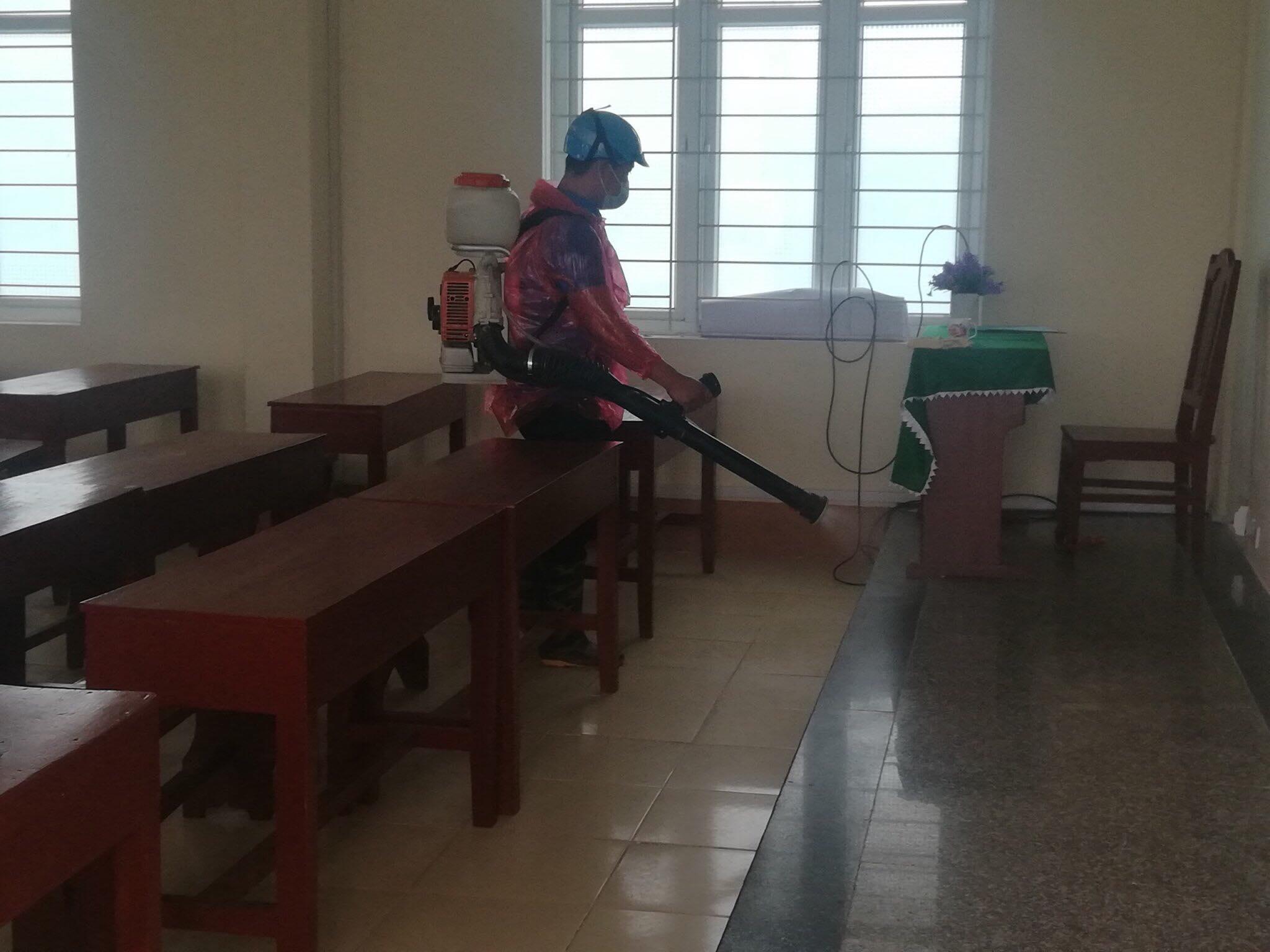 Các trường chuyên biệt trực thuộc bộ tích cực triển khai phòng, chống dịch bệnh nCoV